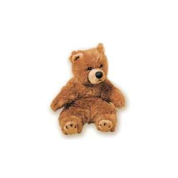 Peluche assise ours grizzly 40 cm Piutre -2106