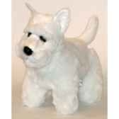 peluche scottish terrier blanc 45 cm piutre 261