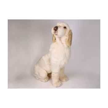 Peluche assise spinone italien 90 cm Piutre -2261