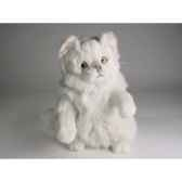 peluche chat persan chinchilla blanc reclamant 30 cm piutre 2304