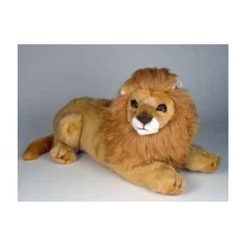 Peluche allongée lion 35 cm Piutre -2509