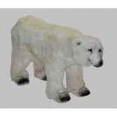 peluche ours polaire sur ses pattes arrieres 120 cm piutre 2129
