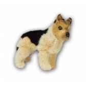 peluche debout mascot berger allemand 20 cm piutre 4253