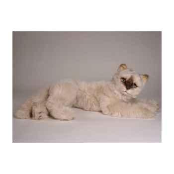 Peluche allongée phoque himalaya 55 cm Piutre -2364