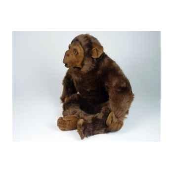 Peluche assise chimpanzé 40 cm Piutre -2570