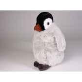 peluche debout pingouin 27 cm piutre 4840