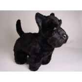 peluche debout scottish terrier noir 45 cm piutre 260