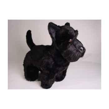 Peluche debout scottish terrier noir 45 cm Piutre -260