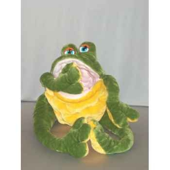 Peluche grenouille maxi matelassée cm Piutre -TR91