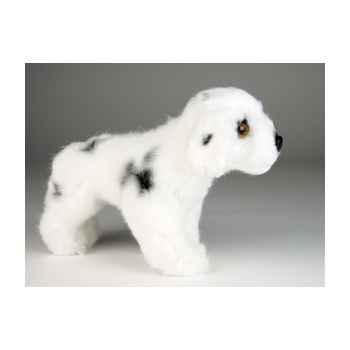 Peluche debout mascotte dalmatien 20 cm Piutre -4255
