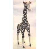 peluche debout giraffe 115 cm piutre 4822