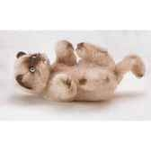 peluche playing chat persan colourpoint 20 cm piutre 2363