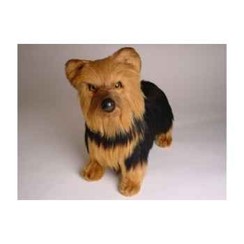 Peluche debout yorkshire terrier 35 cm Piutre -3297