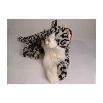 Peluche allongée chat tâcheté 40 cm Piutre -2336