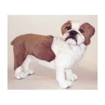Peluche debout english bull-dog 62 cm Piutre -2270