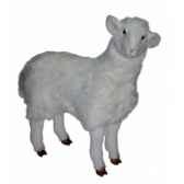 peluche debout mouton 100 cm piutre 2406