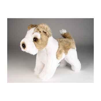 Peluche debout fox terrier 30 cm Piutre -3279