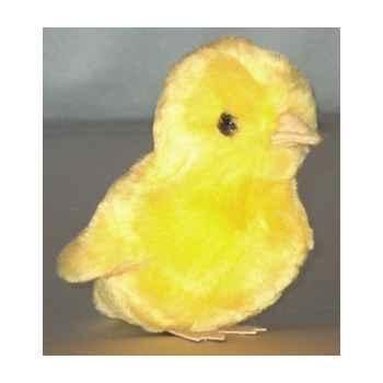 Peluche poussin jaune 12 cm Piutre -704