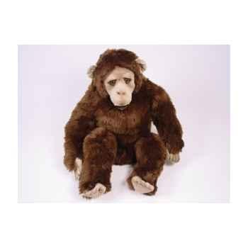 Peluche assise chimpanzee 60 cm Piutre -2571