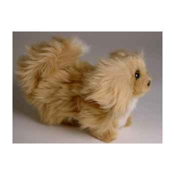 Peluche debout Pékinois miniature 24 cm Piutre -4287