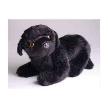 Peluche allongée mascotte Terre Neuve 20 cm Piutre -4246