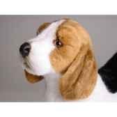peluche debout beagle 45 cm piutre 2244