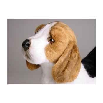 Peluche debout beagle 45 cm Piutre -2244