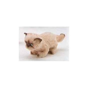 Peluche debout chat persan Coulorpoint 20 cm Piutre -2362