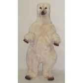 peluche debout ours polaire 160 cm piutre 2110