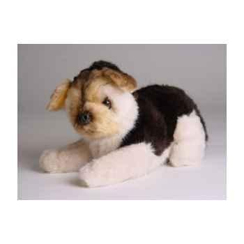 Peluche allongée mascot berger allemand 20 cm Piutre -4252