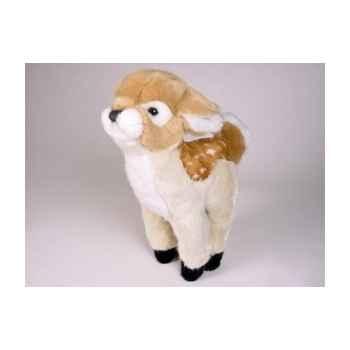 Peluche debout bambi 41 cm Piutre -4832