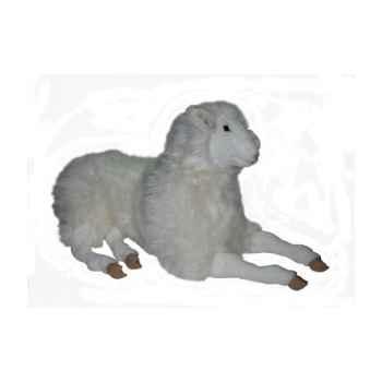 Peluche allongée mouton 100 cm Piutre -2407
