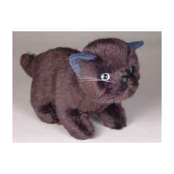 Peluche debout chaton 20 cm Piutre -2448