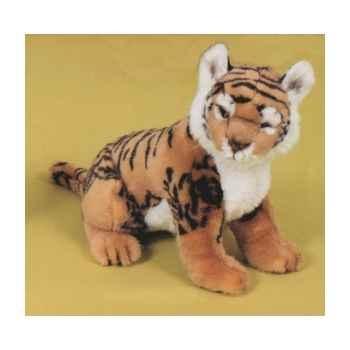 Peluche assise tigre du bengal 55 cm Piutre -2515