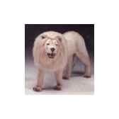 peluche debout lion blanc 180 cm piutre 2535