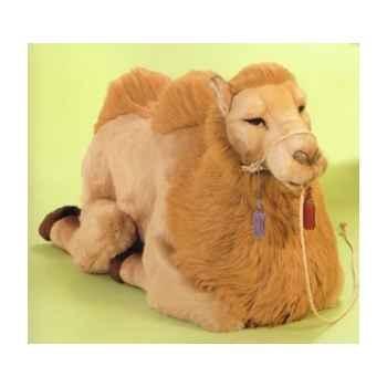 Peluche allongée chameau 100 cm Piutre -2558