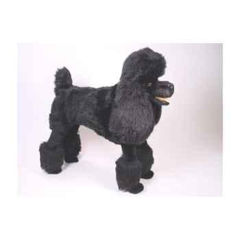 Peluche debout poodle noir 80 cm Piutre -250