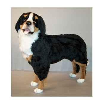 Peluche debout chien de montagne bernois 100 cm Piutre -1260