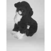 peluche assise chien d eau portugais 40 cm piutre 4226