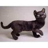 peluche debout chat bleu russe 63 cm piutre 2350