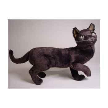 Peluche debout chat bleu Russe 63 cm Piutre -2350