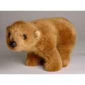 peluche debout miniature ours grizzly 24 cm piutre 4291