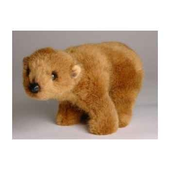 Peluche debout miniature ours grizzly 24 cm Piutre -4291