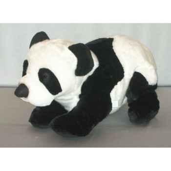 Peluche Panda couché 50 cm Piutre -G117