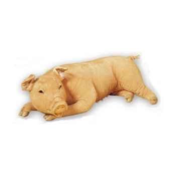 Peluche allongée cochon 130 cm Piutre -2417