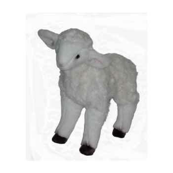Peluche debout agneau 50 cm Piutre -724