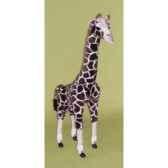 peluche debout giraffe 120 cm piutre 2568