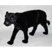 peluche debout panthere noire 120 cm piutre 510