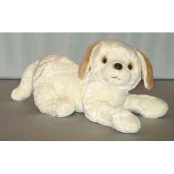 Peluche Labrador couché 50 cm Piutre -G216