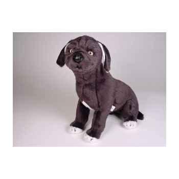 Peluche assise chien Mâtin Napolitain 45 cm Piutre -1297